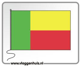 Tafelvlag Benin 10x15 cm