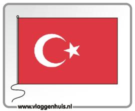 Tafelvlag Turkije 10x15 cm