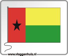 Tafelvlag Guinea 10x15 cm