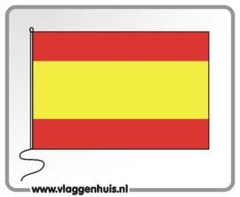 Tafelvlag Spanje 10x15 cm