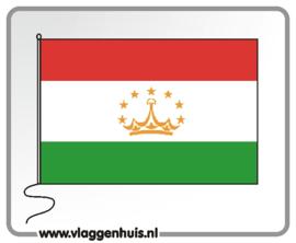 Tafelvlag Tadzjikistan 10x15 cm
