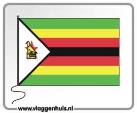 Tafelvlag Zimbabwe 10x15 cm