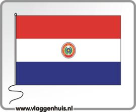 Tafelvlag Paraguay 10x15 cm