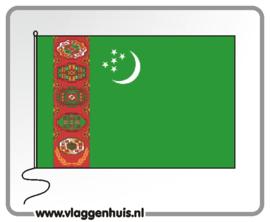 Tafelvlag Turkmenistan 10x15 cm