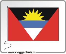 Tafelvlag Antigua10x15 cm