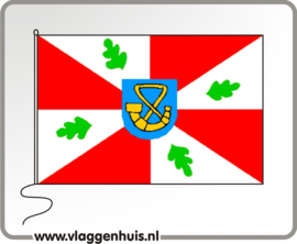 Vlag gemeente Tietjerksteradeel