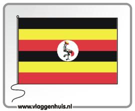 Tafelvlag Oeganda 10x15 cm