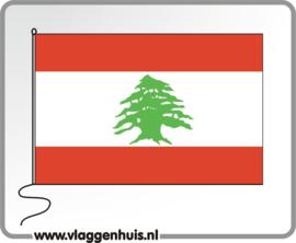 Tafelvlag Libanon 10x15 cm