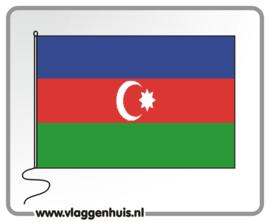 Tafelvlag Azerbaidzjan 10x15 cm