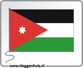 Tafelvlag Jordanië 10x15 cm