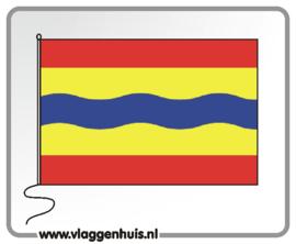 Tafelvlag Overijssel 10x15 cm