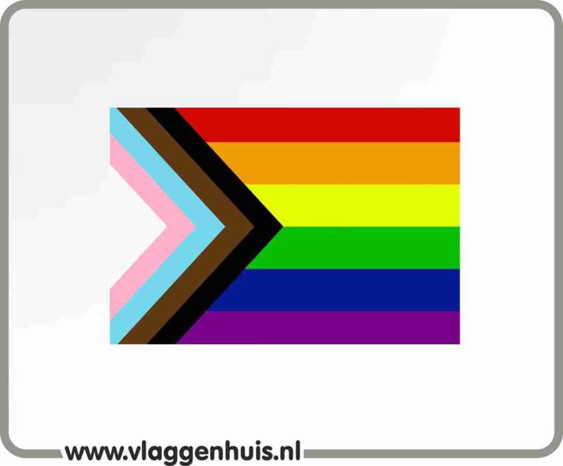 LGBT Pride LHBTI+ vlag