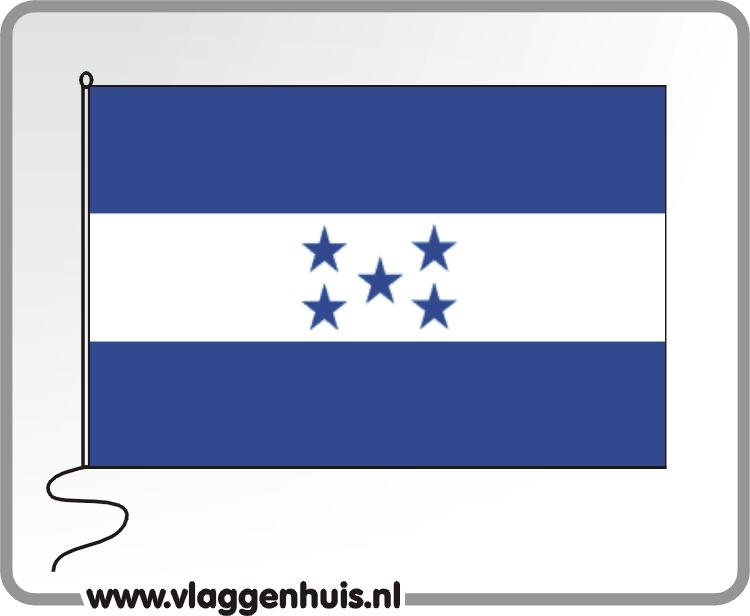 Tafelvlag Honduras 10x15 cm