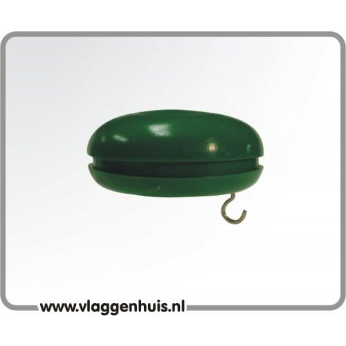 Knop groen 30 mm