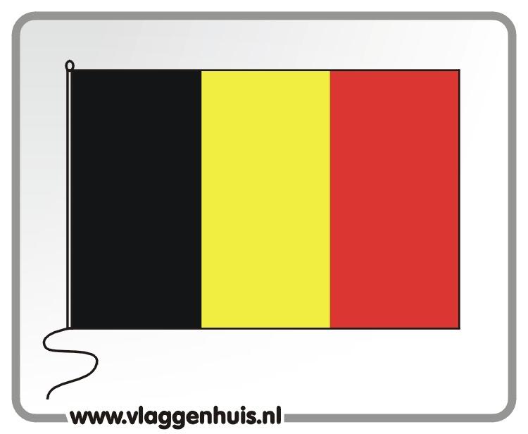 Tafelvlag België 10x15 cm