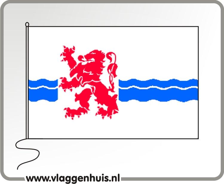 Vlag gemeente Nieuwerkerk aan de IJssel