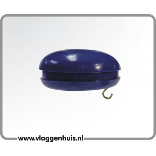 Knop blauw 30 mm