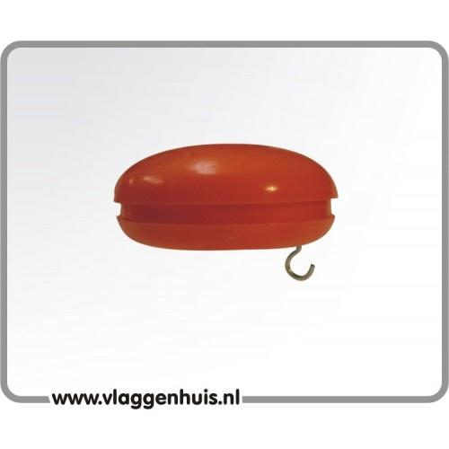 Knop oranje 30 mm