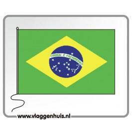 Tafelvlag Brazilië 10x15 cm