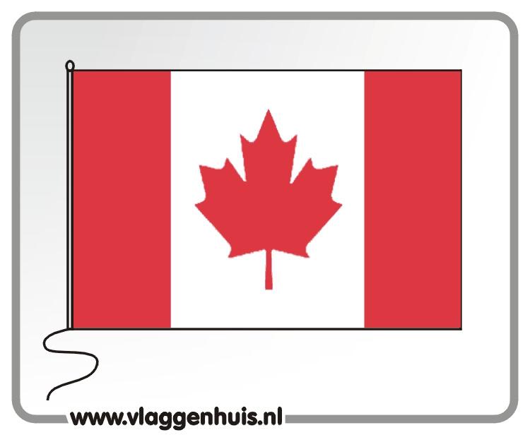 Tafelvlag Canada 10x15 cm