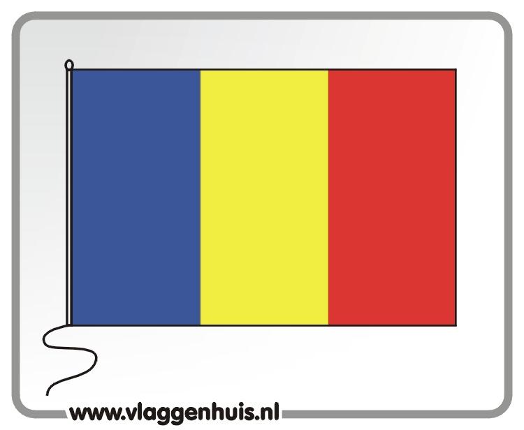 Tafelvlag Andorra 10x15 cm