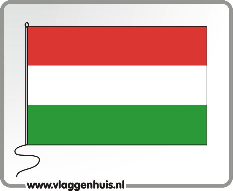 Tafelvlag Hongarije 10x15 cm