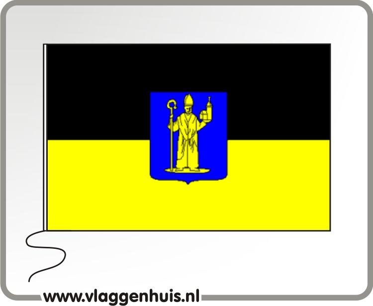 Vlag gemeente Mill-Sint Hubert