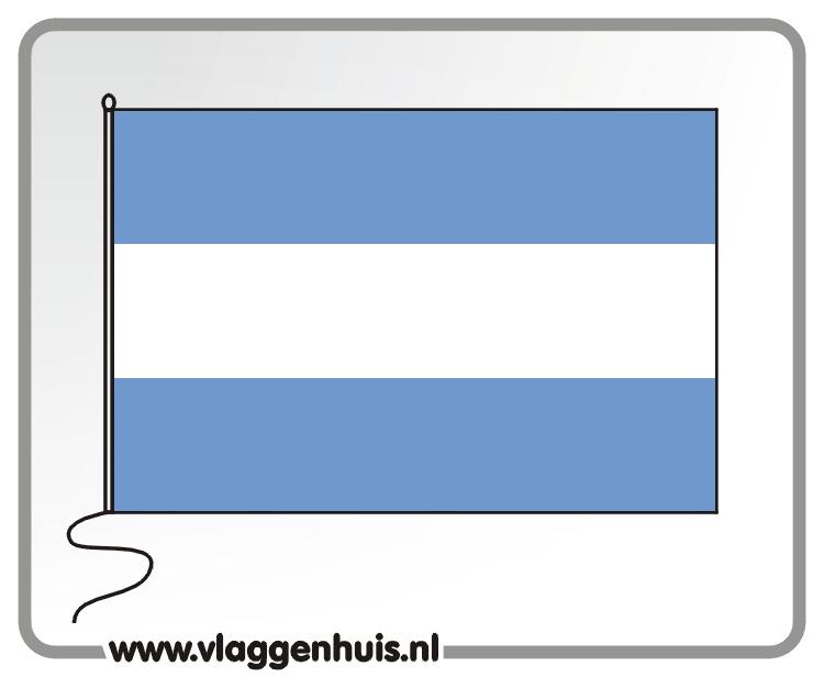 Tafelvlag Argentinië 10x15 cm