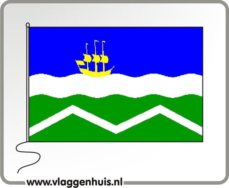 Vlag gemeente Midden-Delfland