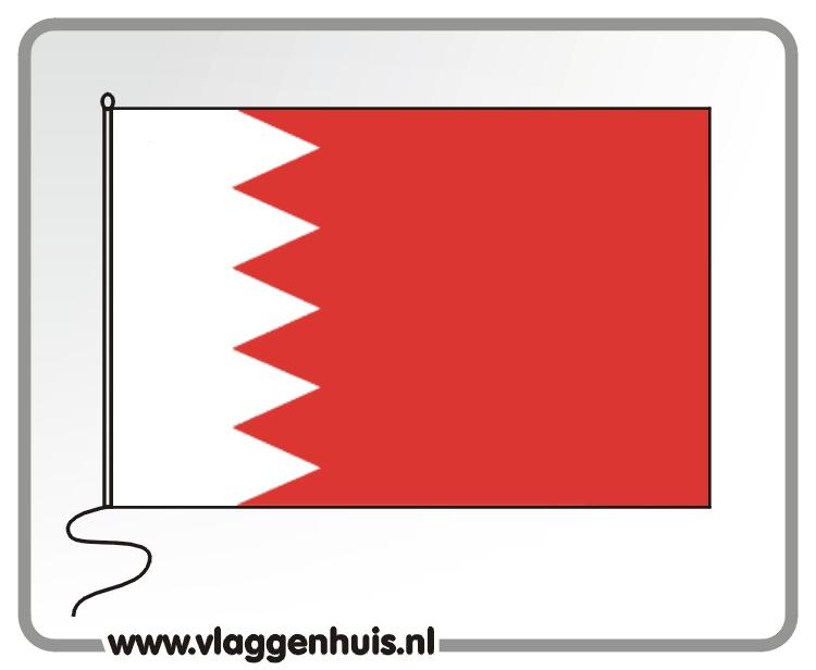 Tafelvlag Bahrein 10x15 cm
