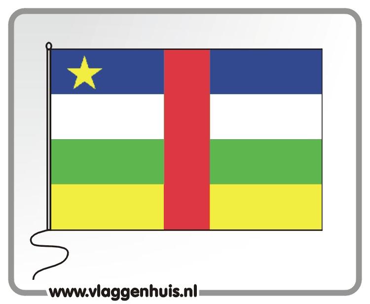 Tafelvlag Centraal-Afrika 10x15 cm