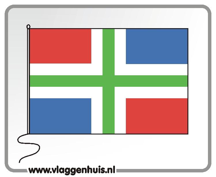 Tafelvlag Groningen 10x15 cm