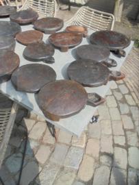 Antieke Bajot plankjes/tapas/kaas etc. Ibiza/Boho