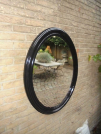 Antieke Franse Ovale Spiegel fraai exemplaar