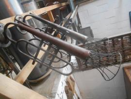 Industriele trompetlamp zeer uniek