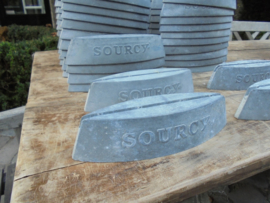 Sourcy industriele/vintage menukaarthouders van metaal