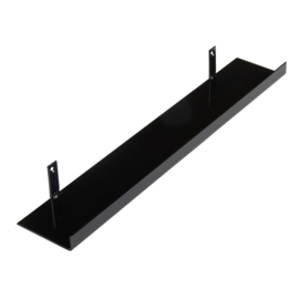Metalen wandplank 60 cm - 11 cm breed