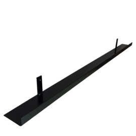 Metalen wandplank 100 cm - 7 cm breed