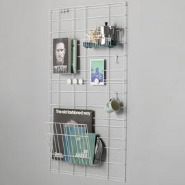Wandgitter Weiß 100x60 cm