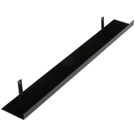 Metalen wandplank 80 cm - 11 cm breed