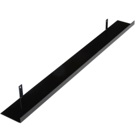Metalen wandplank 100 cm - 11 cm breed