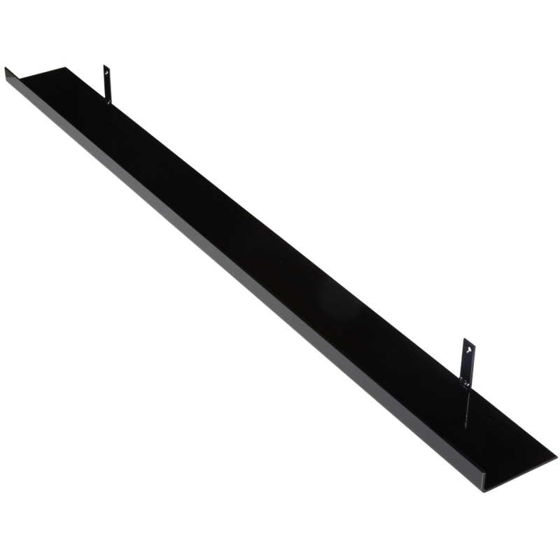 Metalen wandplank  120 cm - 11 cm breed
