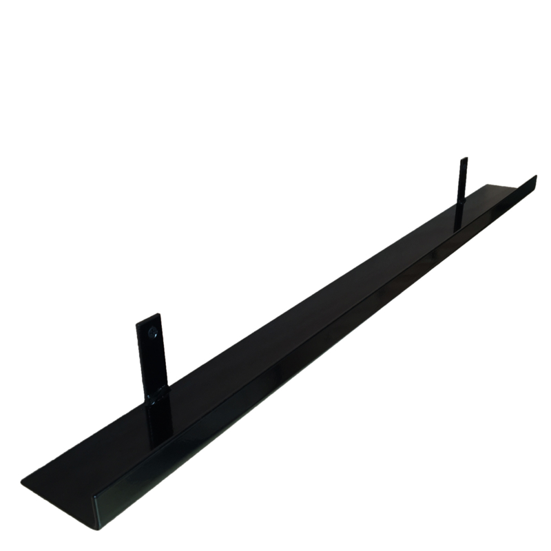 Metalen wandplank 80 cm - 7 cm breed