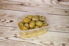 Honing mosterd olijven 200 gram