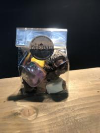 zakje met 10 gemengde bonbons