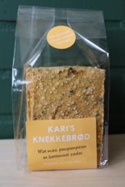 Kari's Knekkebrod - Mais, pompoenpitten - Glutenvrij