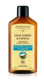 Pure kokos monoi lichaams- en haarolie (200 ml)