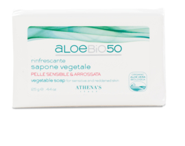 Savon végétal avec Aloe Vera (125 g)