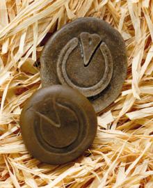 Yellow Door - Op ontdekking! - Pootafdrukken boerderijdieren (set van 8 stenen)