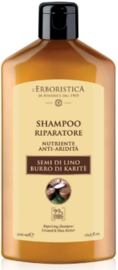 Herstellende shampoo op basis van lijnzaad & shea boter (300 ml)